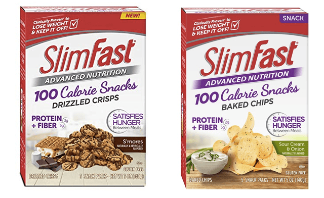 $20 for 20 SlimFast Advanced Nutrition Snack Packs (a $45.20 Value)
