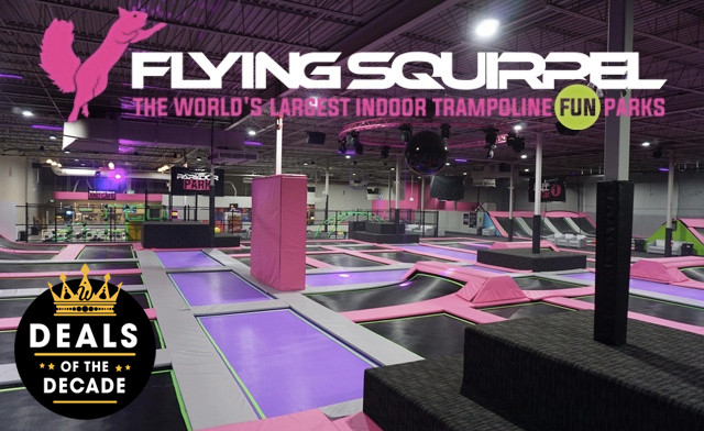 Up to 58% off at The Flying Squirrel Hamilton - The World's Largest Indoor Trampoline Fun Parks!