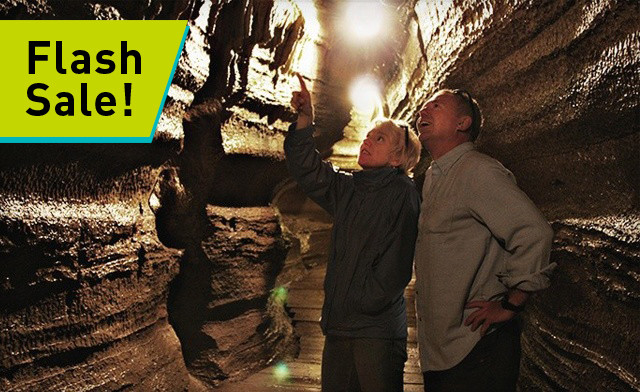 FLASH SALE! $16 for a Tour of World Famous Caves for Two Adults at Bonnechere Caves (a $39 Value)