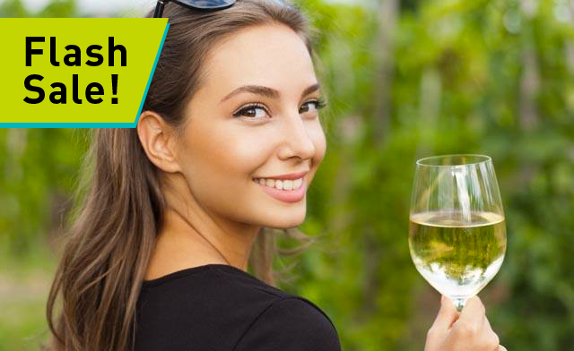 FLASH SALE! Up to 50% off a Toronto/Niagara Winery Tour