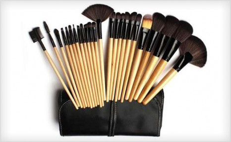 $29 for a 24-Piece Makeup Brush Set (a $199 Value)