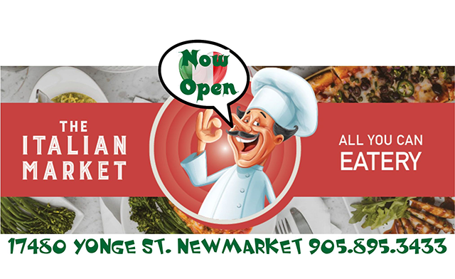 Up to 40% off All You Can Eat Italian Lunch or Dinner for Two at The Italian Market