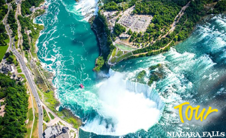 $58 for a Niagara Falls Day Tour Departing from Toronto for 1 Person (a $77 Value)