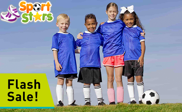 FLASH SALE! Up to 75% off a 9-Week Child/Youth Outdoor Soccer Program Registration from Sport Stars