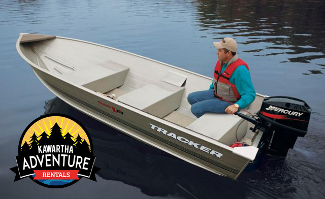 $69 for a Full Day Fishing Boat Rental from Kawartha Adventure Rentals (a $135 Value)
