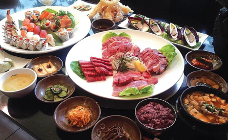 Up to 46% Off Authentic Korean Table Barbecue for Two, Four or Six at Arisu Korean BBQ & Sushi