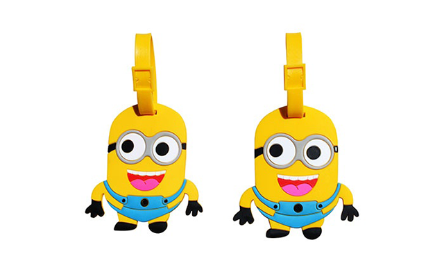 $9 for a Two-Pack of Animated Luggage Tags (a $25 Value)