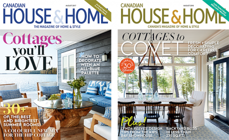 $17 for 1-year + 1 FREE ISSUE 'Summer Homes & Cottages' from House & Home Magazine (a $84.50 value)