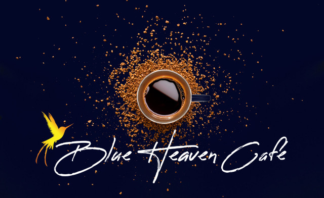 $10 for 15 Cups of Jamaican Blue Mountain Coffee or Teas from Blue Heaven Cafe (a $33.73 Value)