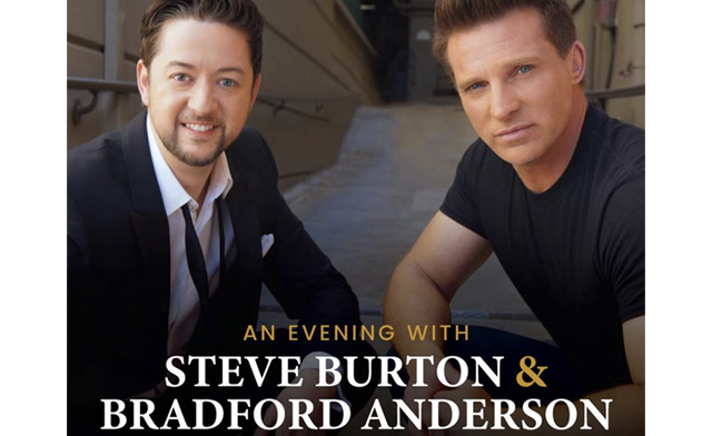 $100 for General Admission to an Evening with Steve Burton & Bradford Anderson (a $130 Value)