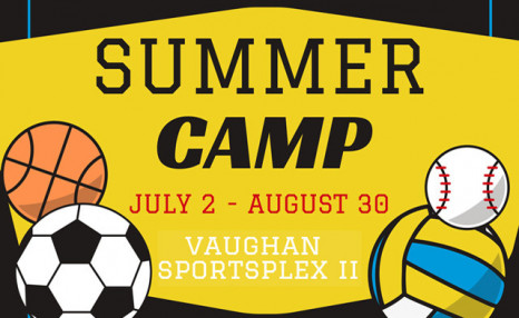 $89 for 1 Week of Youth Multi-Sport Summer Camp for One at Vaughan Sportsplex II (a $199 Value)