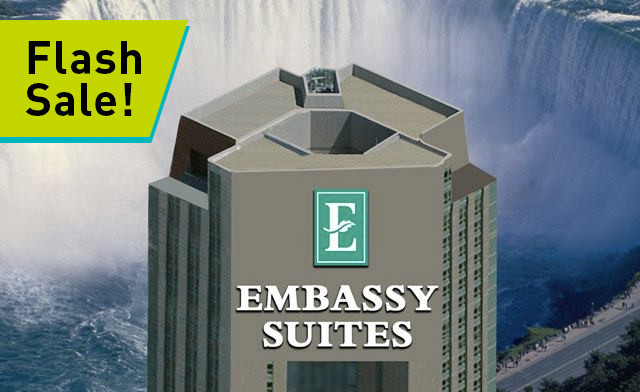 FLASH SALE: Relaxing Luxury Getaway Package in Niagara Falls