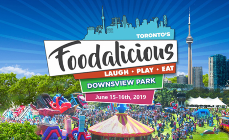 Up to 43% Off Admission Including Children's Ride Passes to Foodalicious Toronto on June 15th and 16th at Downsview Park