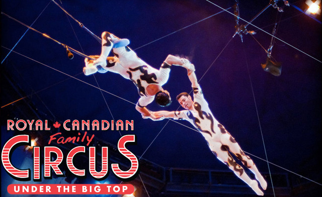 $17.99 for one General Admission Ticket to the Royal Canadian Family Circus (a $31.08 Value) - 5 Locations!