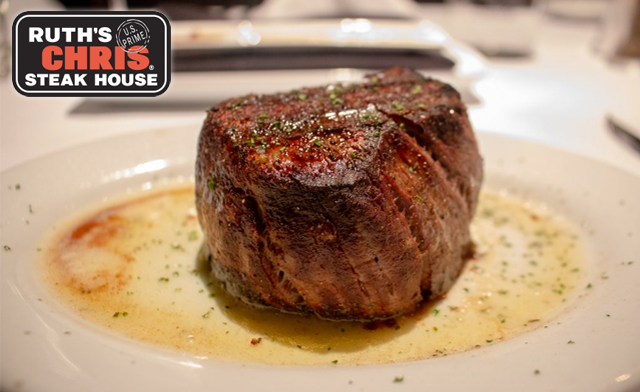 Up to 35% off Prix Fixe Dinners for Two at Ruth's Chris Steak House