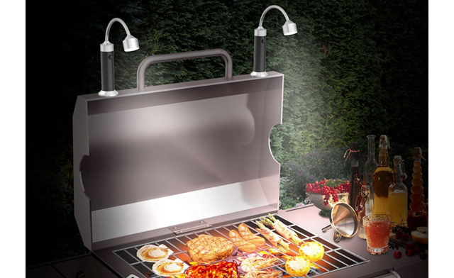 $23.49 for a Magnetic Flexible Barbecue Grill Light (a $49 Value)