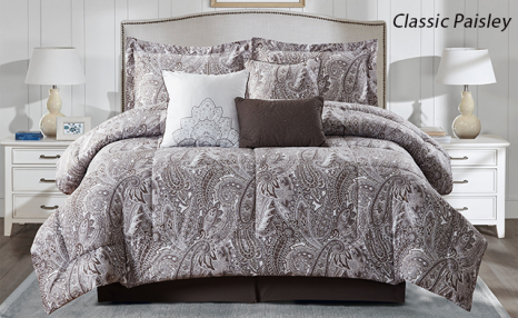 Up to 54% Off a 7-Piece Comforter Set