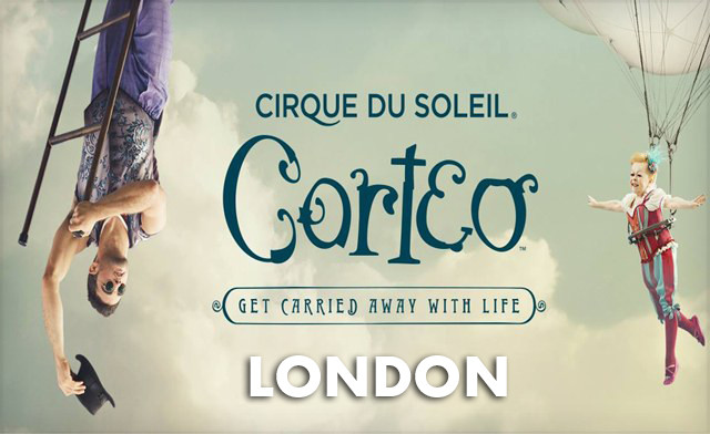 Up to 25% Off Tickets to Corteo from Cirque du Soleil in London