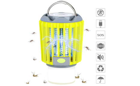 $49.95 for a Solar Powered 3-in-1 Mosquito Repelling LED Lamp (a $119 Value)