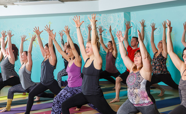 $17 for 1 Month of Unlimited Yoga (a $35 Value)
