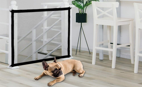 $22 for a Foldable Mesh Safety Gate for Pets (a $49 Value)
