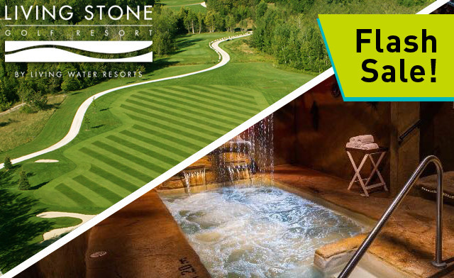 FATHER'S DAY FLASH SALE! $229 for a 1-Night Golf Stay & Play in Georgian Bay