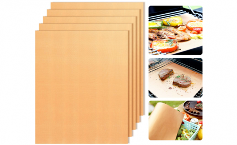 $15 for a Set of Non-Stick Copper Grill Mats (a $59.95 Value)