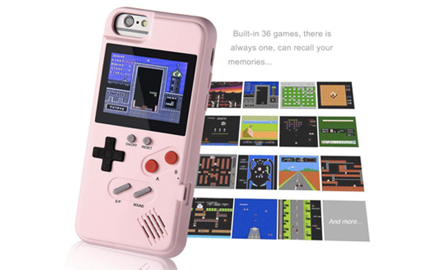 $29 for a Retro Gameboy iPhone Case with 36 Games (a $54.99 Value)