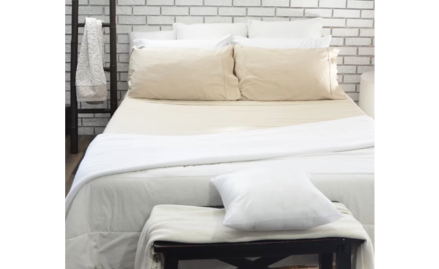 $18.95 for a 4-Piece Cotton Blend Sheet Set (a $99 Value)