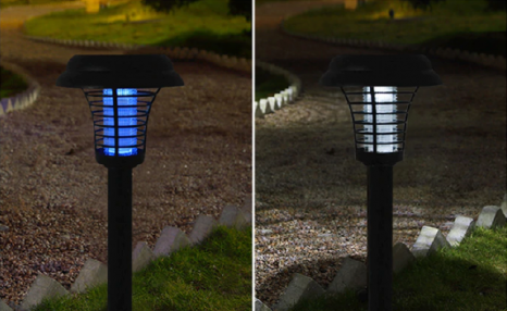 Up to 57% off Solar Powered 2-in-1 Bug Zapper & Lights