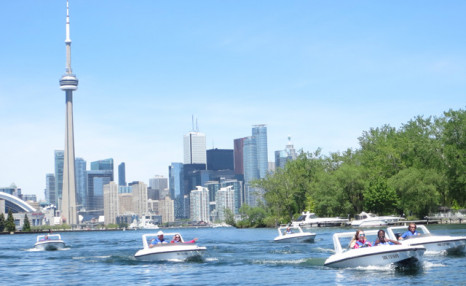 $79 for a 90 Minute Paradise F13 Mini Powerboat Rental from Harbourfront Centre Sailing and Powerboating (a $118.50 Value)