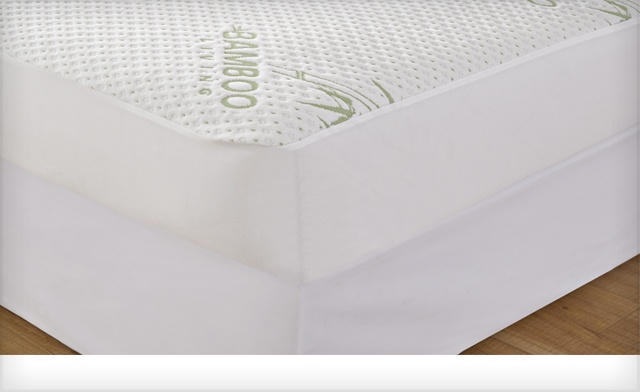 $13.25 & Up for Bamboo Waterproof Mattress Protectors