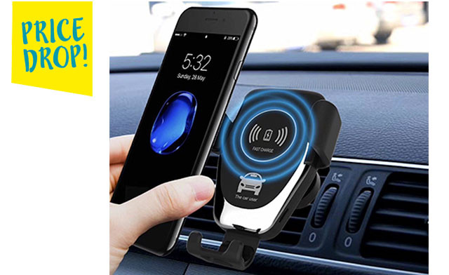 Up to 73% off a Smart Sensor Car Charger for Apple & Android Phones
