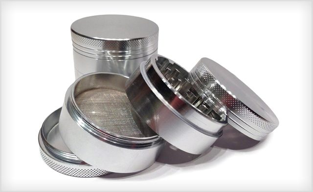 $9.09 for a 5-Piece Titanium Herb Grinder (a $28 Value)