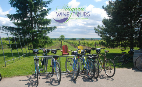 $39 for a Full Day Bike Rental for 2 Guests with Wine Tour in Niagara-on-the-Lake (a $80 value)