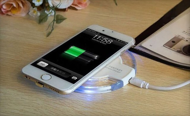 $13 for a LED Wireless Charging Pad for iPhone and Android (a $37 Value)
