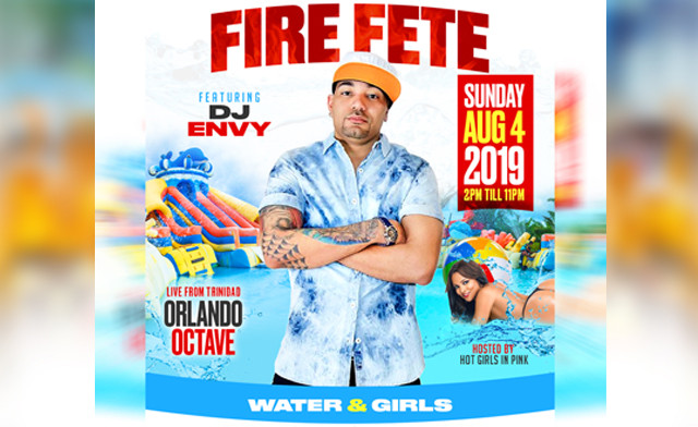 $25 for Admission to FIRE FETE -DAY FETE at the Woodbine Mall on August 4, 2019 (a $60 Value)