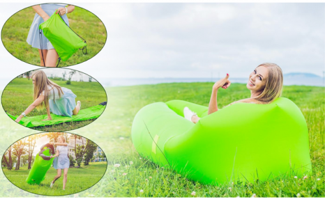 $25 for an Inflatable Air Lounger (a $90 Value)