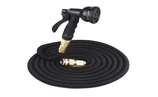 Up to 56% off an Expandable Garden Hose with Nozzle