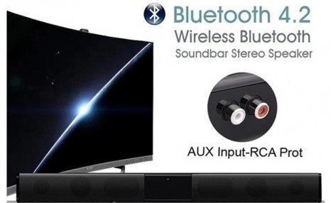Up to 69% off a Bluetooth Sound Bar