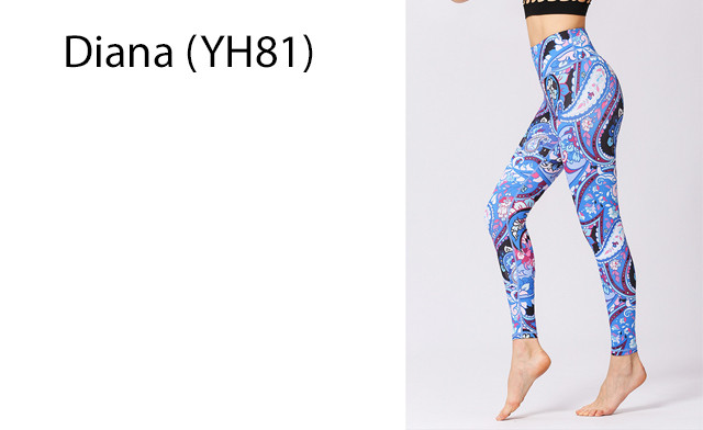 $19.90 for a Pair of Seamless Women's Printed Leggings (a $50 Value)