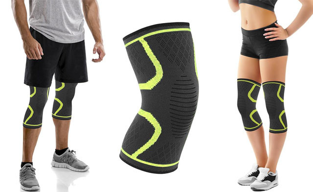 $14 for Knee Compression Sleeve Support (1 Pair) (a $35 Value)