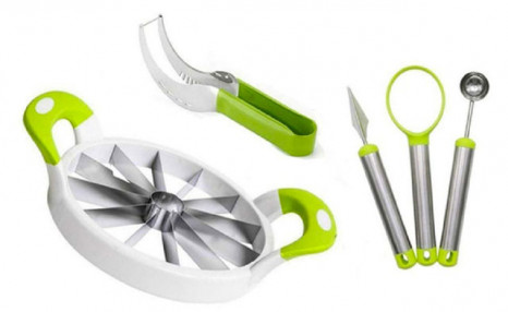 $13.99 for a Melon Slicer with Carving Tools (5 Piece) (a $35.99 Value)