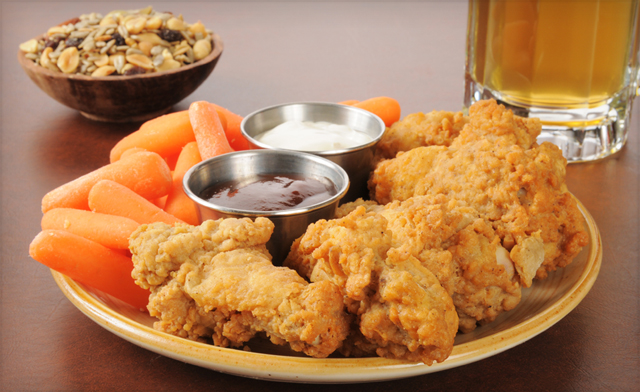 PRICE DROP!! $29 for 4 kg of Fully Cooked Salt and Pepper Breaded Chicken Wings (a $50 Value)
