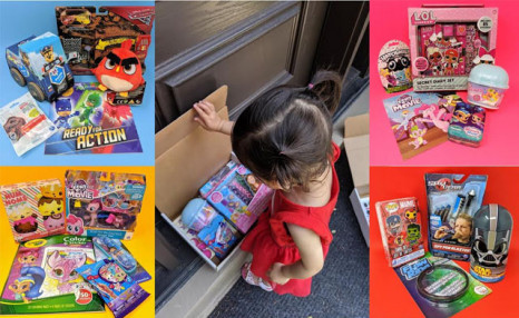 Up to 57% off The First Month of a Toy Box or Family Box Subscription