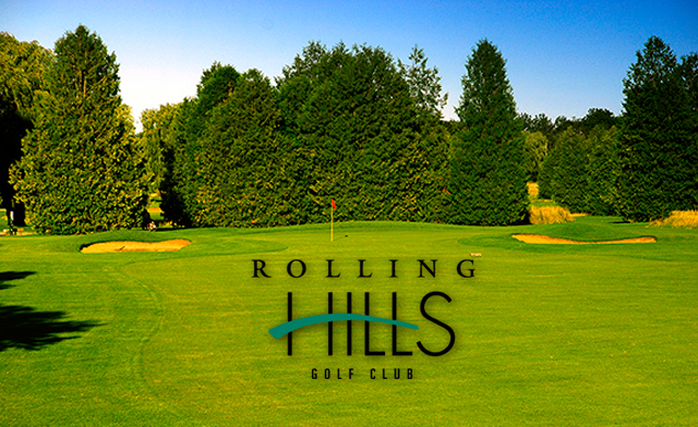 Rolling Hills Classic or Challenge Course Golf for Two People including Power Cart