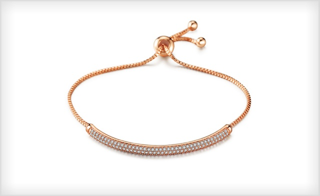 $19 for an Adjustable Swarovski Crystal Semi-Bangle (a $150 Value)