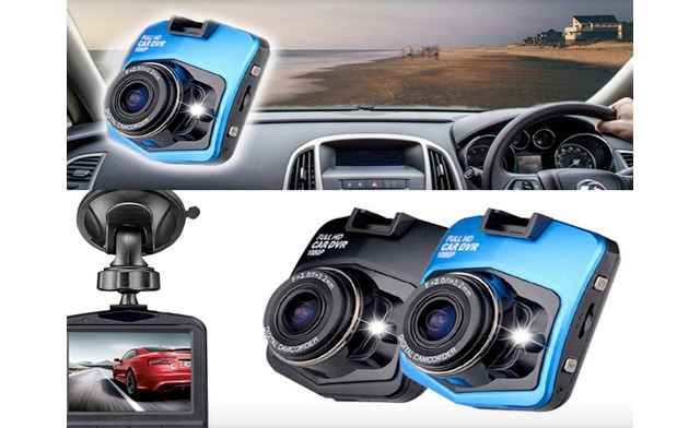 $38 for a Full HD 1080P Car DVR Dash Accident Camera with Night Vision (a $124 Value)