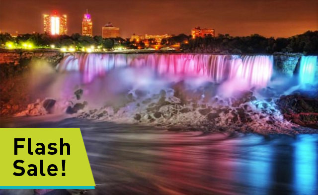 FLASH SALE! Wine & Dine Getaway to Niagara Falls