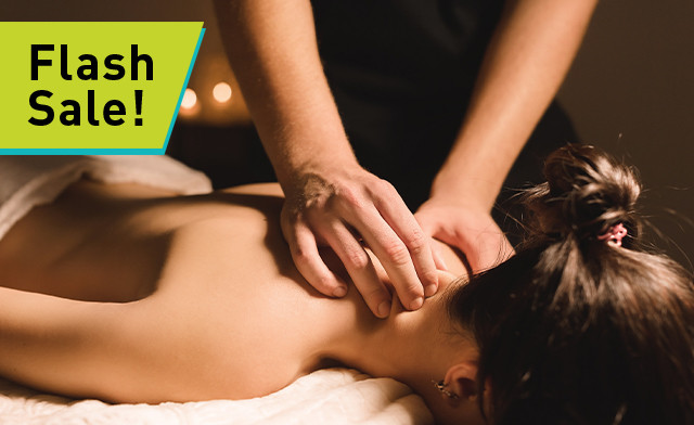 FLASH SALE! Up to 77% off RMT Massage or i-Lipo Body Contouring from Golden Touch MediSpa